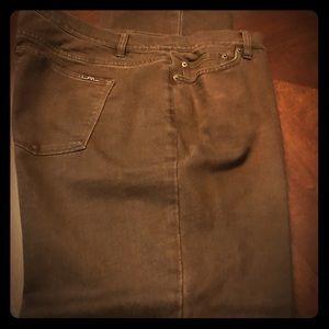 Brown denim Lauren Ralph Lauren jeans